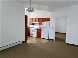 Apartment Dining/Kitchen Area